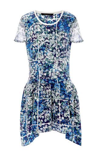 Medium timo weiland white floral grid annabelle dress
