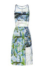 Vine Print Tabitha Dress by TIMO WEILAND for Preorder on Moda Operandi