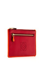 Double Zip Mini Leather Pouch by LOEWE Now Available on Moda Operandi