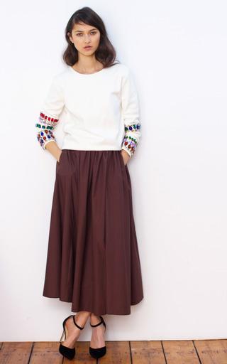 Full Skirt by ISA ARFEN for Preorder on Moda Operandi