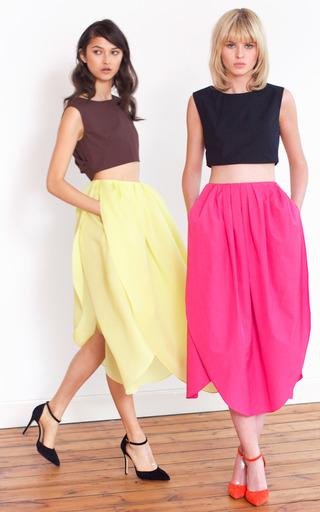 Camelia Petal Skirt by ISA ARFEN for Preorder on Moda Operandi