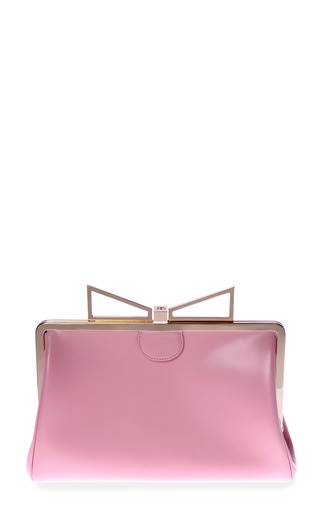 Medium sara battaglia pink lady me pochette in pink flamingo
