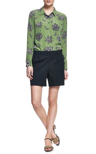 Brett Safari Floral Silk Shirt by EQUIPMENT Now Available on Moda Operandi