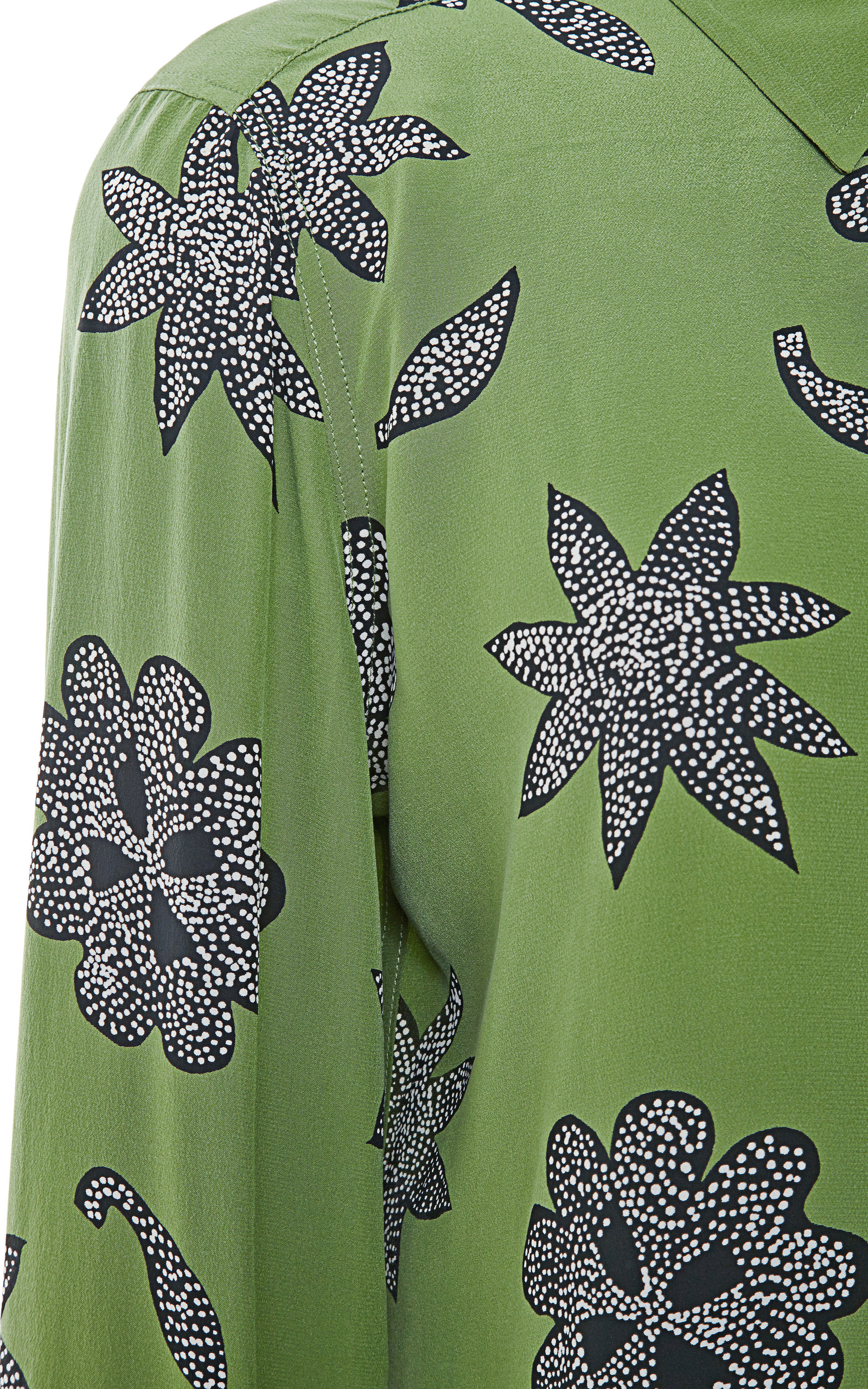 Brett Safari Floral Silk Shirt By Equipment Moda Operandi