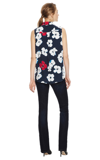 Signature Floral Print Silk Shirt by EQUIPMENT Now Available on Moda Operandi