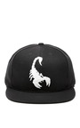 Scorpion Embroidered Cap by RODARTE Now Available on Moda Operandi
