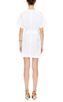 Tie Front Cotton Dress by MSGM Now Available on Moda Operandi