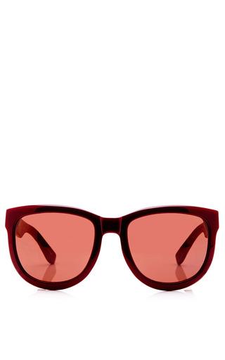 Medium linda farrow purple the row d frame acetate sunglasses