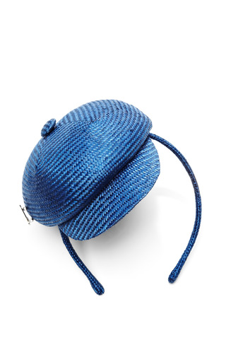 Medium muhlbauer blue alice mini hat headband