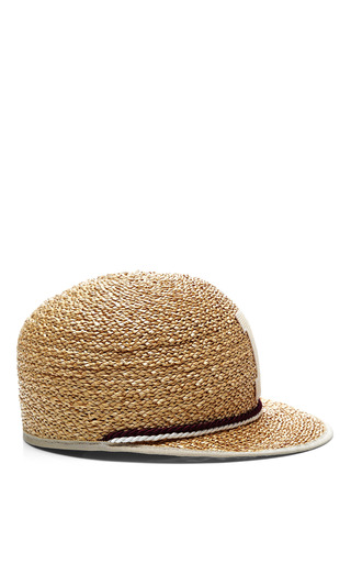 Ali Monogram Straw Cap by MUHLBAUER Now Available on Moda Operandi