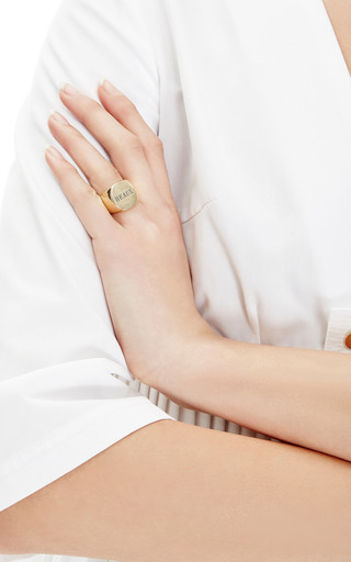"""Heaux"" Signet Ring by FALLON Now Available on Moda Operandi"