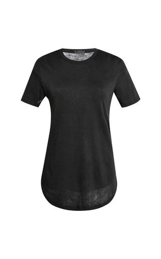 Medium atm black crew neck cotton t shirt 2