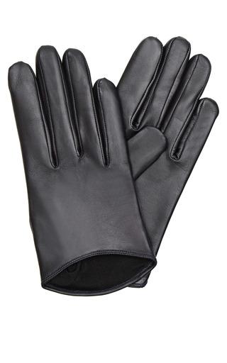 Short Leather Gloves by IMONI Now Available on Moda Operandi