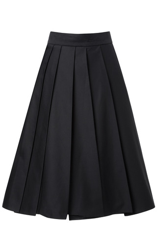 Half Pleated Skirt by A.W.A.K.E. for Preorder on Moda Operandi