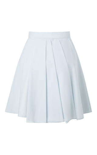 Short Pleated Skirt by A.W.A.K.E. for Preorder on Moda Operandi