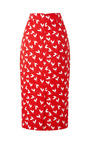 Printed Jacquard Pencil Skirt by A.W.A.K.E. for Preorder on Moda Operandi