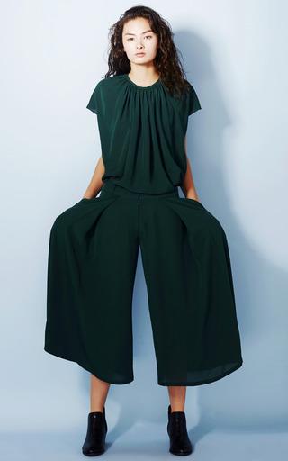 Draped Blouse by A.W.A.K.E. for Preorder on Moda Operandi