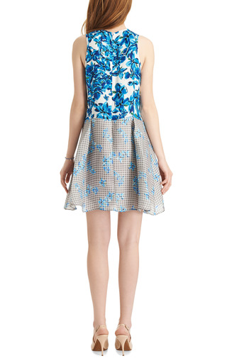 Kylie Printed Silk Organza Dress by TANYA TAYLOR Now Available on Moda Operandi