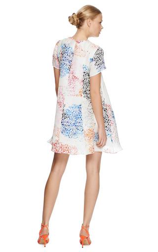 Melanie Printed Silk Organza Dress by TANYA TAYLOR Now Available on Moda Operandi