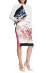 Printed Zip Clutch by VANITIES Now Available on Moda Operandi