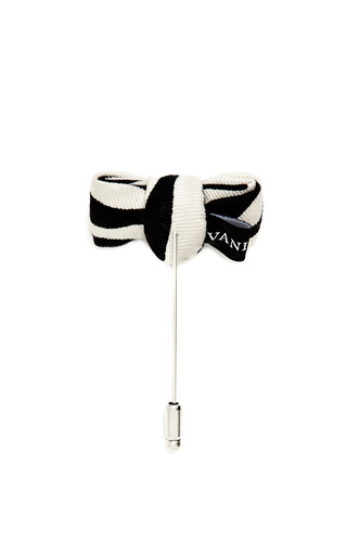Printed Bow Pin by VANITIES Now Available on Moda Operandi