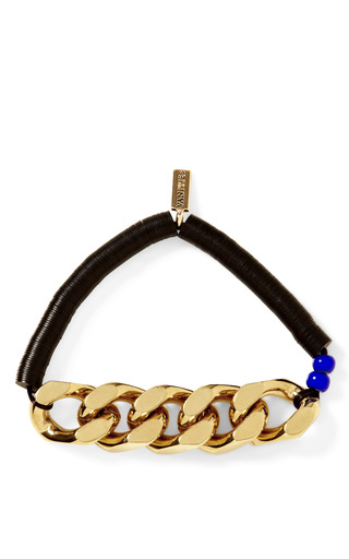 Beaded Chain Bracelet by VANITIES Now Available on Moda Operandi