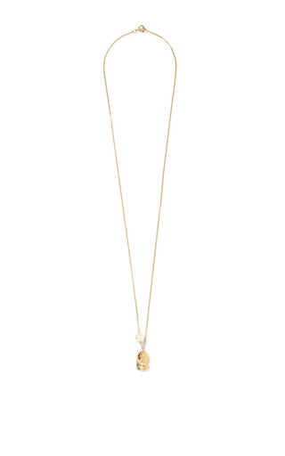 Baseball Cap Chain Necklace by VANITIES Now Available on Moda Operandi