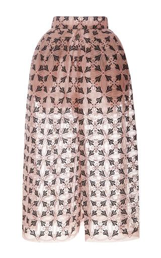 Medium delpozo pink pleated hip pants
