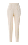Braid Detail Cropped Pants by DELPOZO Now Available on Moda Operandi