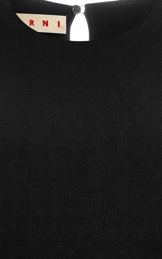 Crepe Satin Blouse by MARNI Now Available on Moda Operandi
