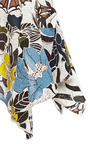 Printed Asymmetric Hem Top by MARNI Now Available on Moda Operandi