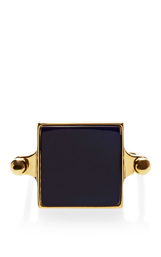 Medium marni navy resin stone bracelet