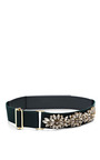 Embellished Canvas Belt by MARNI Now Available on Moda Operandi