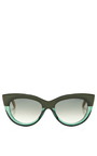 Cat Eye Acetate Sunglasses by MARNI Now Available on Moda Operandi