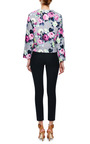 Floral Print Cotton Sweatshirt by CARVEN Now Available on Moda Operandi