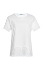 Lace Embroidered Cotton T Shirt by CARVEN Now Available on Moda Operandi