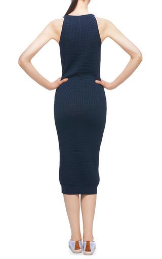Waffle Knit Dress by CARVEN Now Available on Moda Operandi