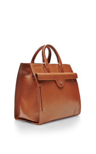 Leather Tote Bag by CARVEN Now Available on Moda Operandi