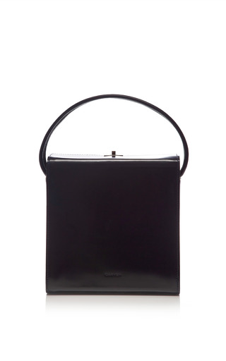 Patent Leather Satchel by CARVEN Now Available on Moda Operandi