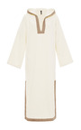 Hooded Terry Cotton Kaftan by LISA MARIE FERNANDEZ Now Available on Moda Operandi