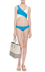 Marie Louise Vintage Wrap Top Bikini by LISA MARIE FERNANDEZ Now Available on Moda Operandi