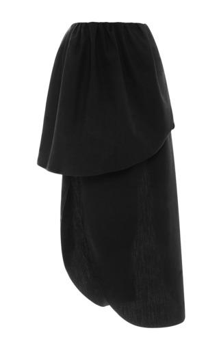 Asymmetric Cotton Petal Skirt by ISA ARFEN Now Available on Moda Operandi