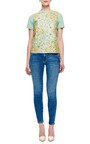 Arie Embroidered Front T Shirt by BETINA Now Available on Moda Operandi
