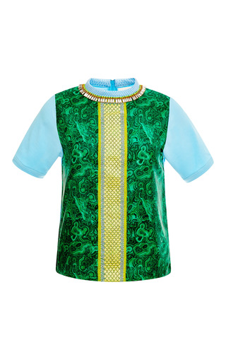 Medium betina multi jade embellished t shirt