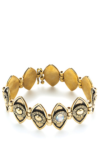 Medium pamela love metallic eye link bracelet