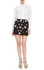 Embellished Mini Skirt by TIBI Now Available on Moda Operandi