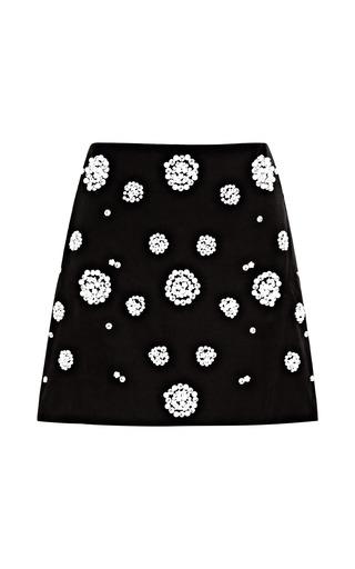 Medium tibi multi embellished mini skirt