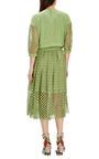 Sonoran Cotton Eyelet Skirt by TIBI Now Available on Moda Operandi