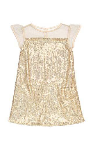 Medium marie chantal gold sequin dress