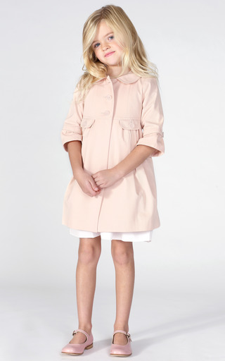 Empire Line Coat by MARIE-CHANTAL for Preorder on Moda Operandi